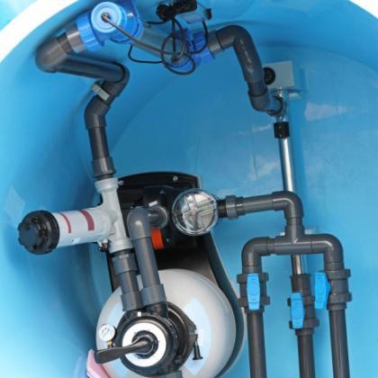 Plan des systèmes de traitement de l'eau